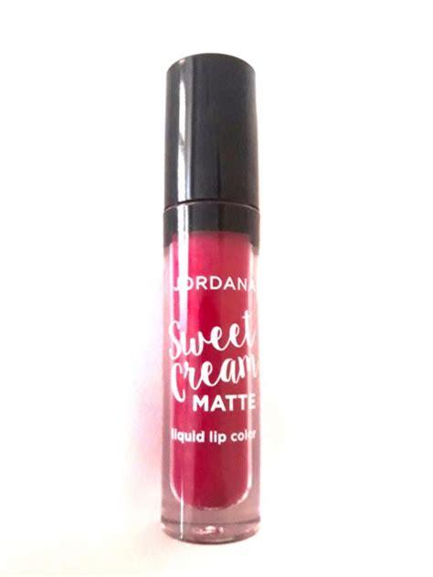 Jordana Sweet Matte Liquid Lipstick Diskon jordana sweet matte liquid lipstick sugared plum review swatches