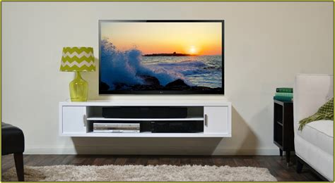 Your home improvements refference wall mounted tv shelves