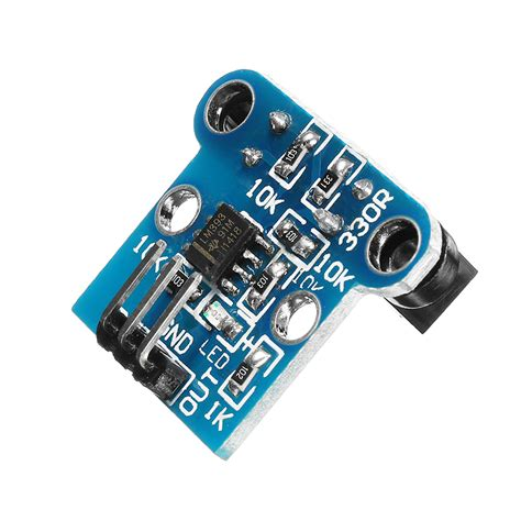 Speed Sensor Photoelectric Lm393 Sensor Kecepatan Putaran h206 photoelectric counter counting sensor module motor speed board robot speed code 6mm slot
