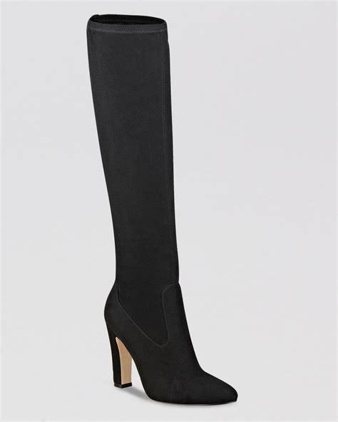 high heel boots with dresses ivanka sila shaft high heel dress boots in