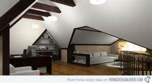 How To Lower Ceiling Height by How To Smartly Design An Attic Home Design Lover