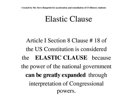 what is article 1 section 8 commonly known as article 1 section 8 of the constitution lisa s leaks