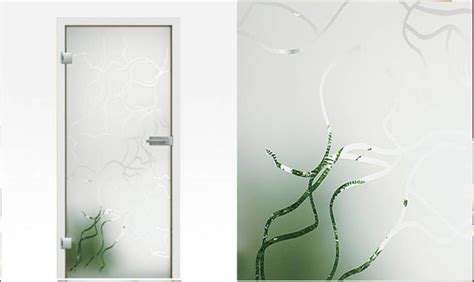 Glass Door That Changes From Clear To Frosted Glass Door Frosted Model Fresco Frosted Glass Door With A Clear Design Patterns Toughened