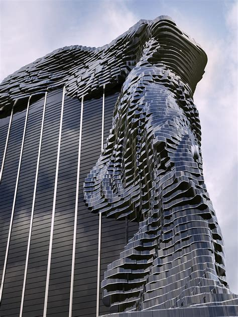 cool building designs vasily klyukin envisions winged victory of samothrace tower