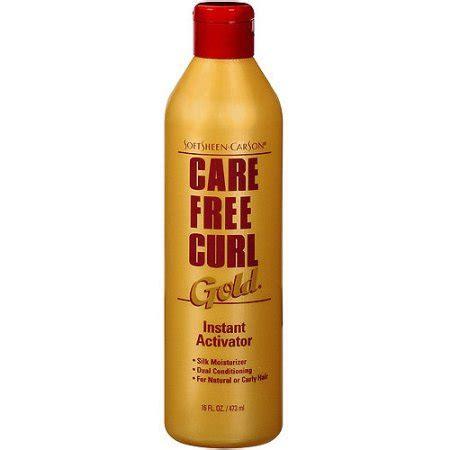 carefree curl care free curl gold instant activator 16 oz walmart com