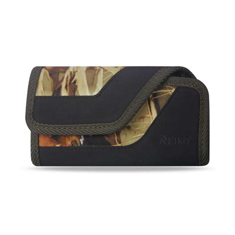 reiko medium horizontal rugged holster in camouflage ph10b
