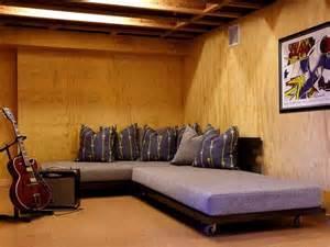 Unfinished basement ideas dudu interior amp kitchen ideas