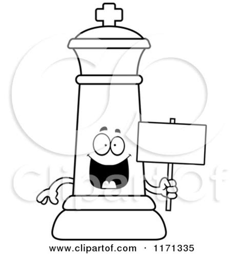 chess king coloring page royalty free rf clipart of king chess pieces