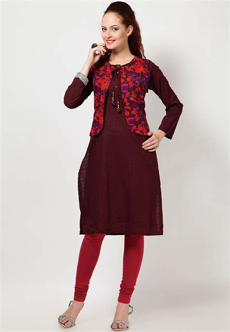 Jacket Pattern Kurta For Ladies | kurtas with jacket for ladies google search jackets