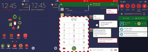christmas themes samsung themes thursday 48 themes released in the theme store