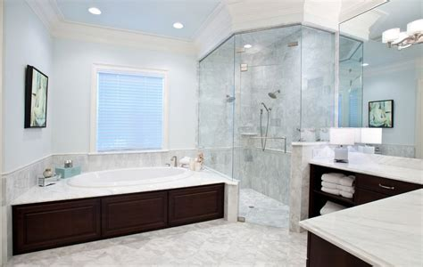 beautiful contemporary bathrooms master bathroom with corner shower home decorating