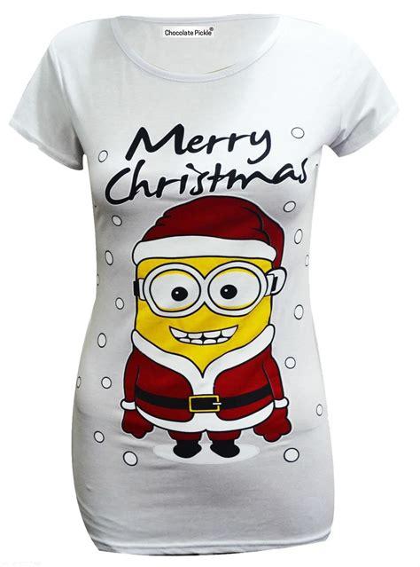 Tshirt Minion 42 frauen olaf rudolph schneemann weihnachts minion