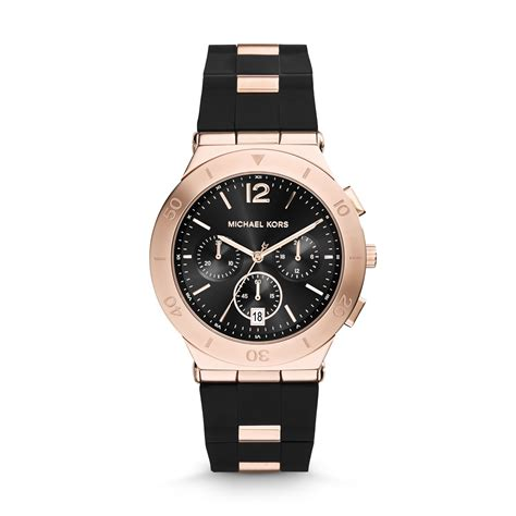Alba Black Rosegold michael kors watches gold and black www pixshark images galleries with a bite