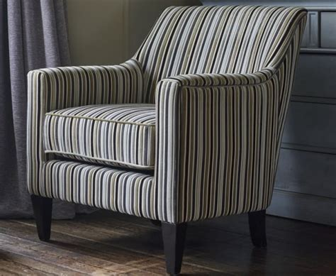 striped armchairs golding silver striped fabric arm chair