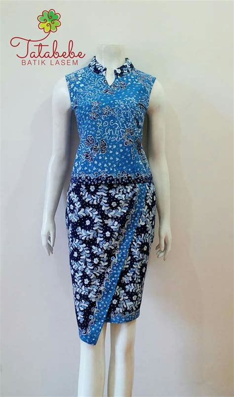 Dress Setelan Top Brokat Rok Organza best 25 gaun batik modern ideas on dress brokat modern kebaya simple and dress