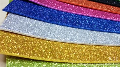 glitter ethylene vinyl acetate sheet color foam paper