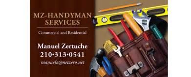 handyman business cards ideas mz handyman services on behance