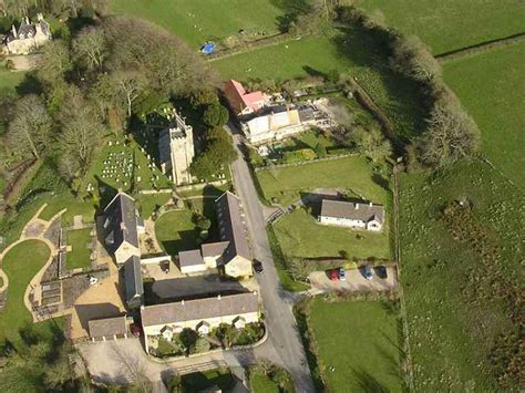 Bay Window Images dorset aerial photos askerswell village church and