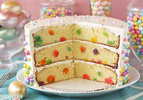 Really Small Kitchen Ideas easter polka dot cake sugarhero