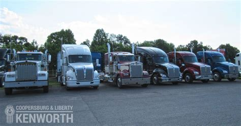 kenworth dealer nj used kenworth trucks in pa nj coopersburg liberty