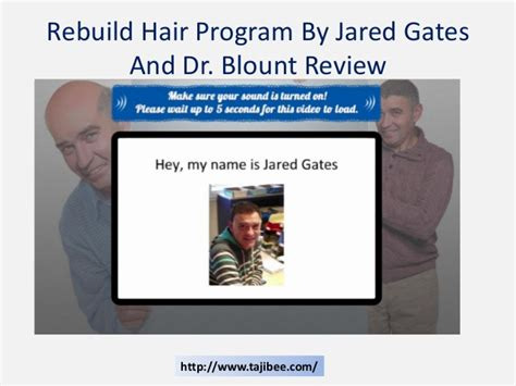 dr blount hairloss fraud rebuild hair program by jared gates and dr blount reviews