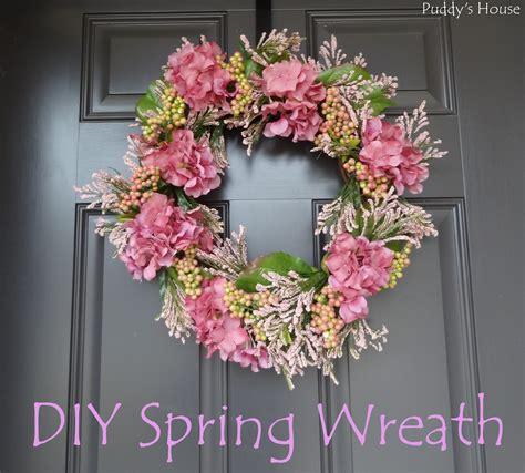 spring wreaths diy diy spring wreath puddy s house