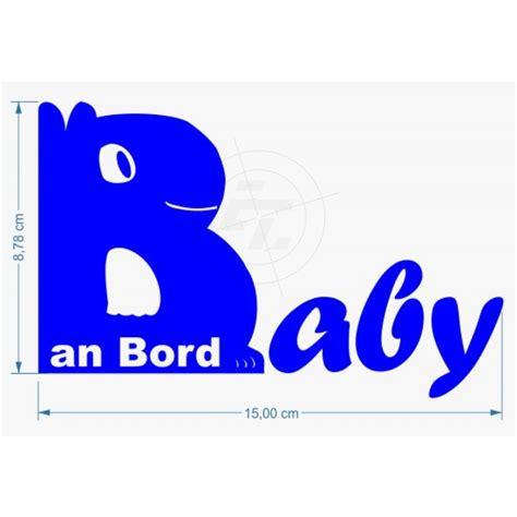Baby Aufkleber by Baby An Bord Aufkleber Sticker Und Folien F 252 R Auto Boot