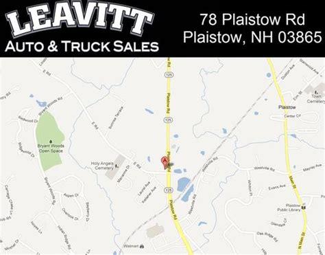 leavitt auto truck sales plaistow nh 03865 car