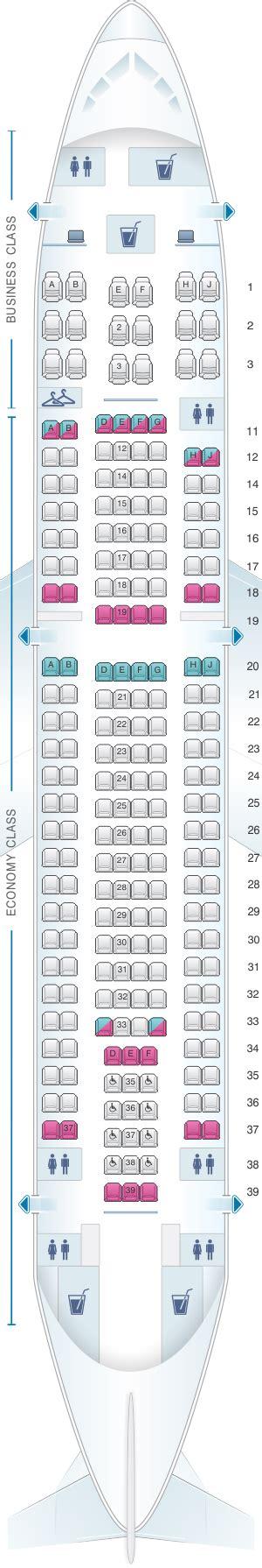 airbus a310 300 seating seat map sata air a 231 ores airbus a310 300 config 3