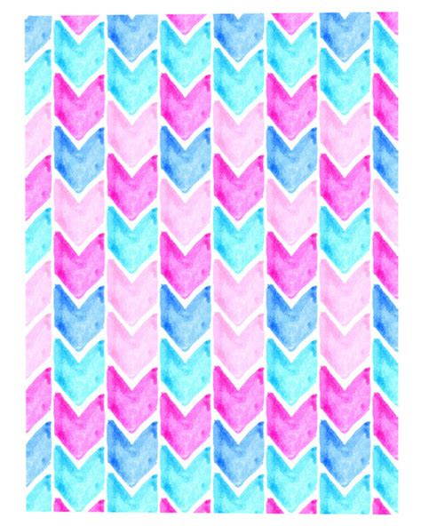 chevron pattern tumblr watercolor chevron tumblr