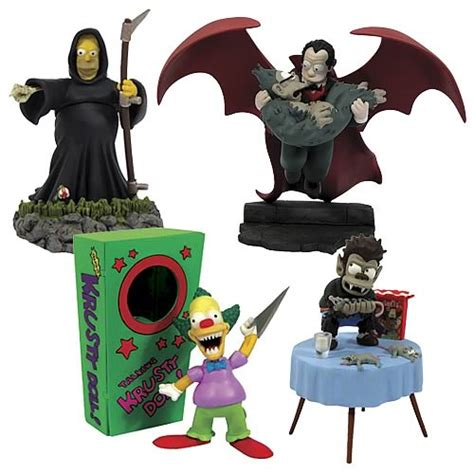 Simpsons Busts Out by The Simpsons Bust Ups Treehouse Of Horror 2006 Set