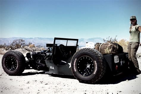 Willys Rat Rod Jeep 1945 Willys Jeep Rat Rod Hiconsumption