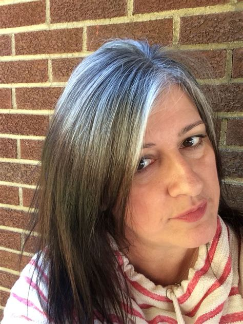 how to transition to gray hair from dyed 178 best images about grey hair transitions on pinterest