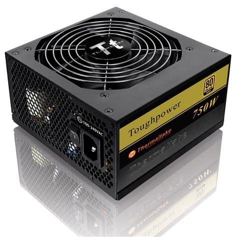 alimentatore thermaltake thermaltake toughpower 750w 80plus gold alimentation pc