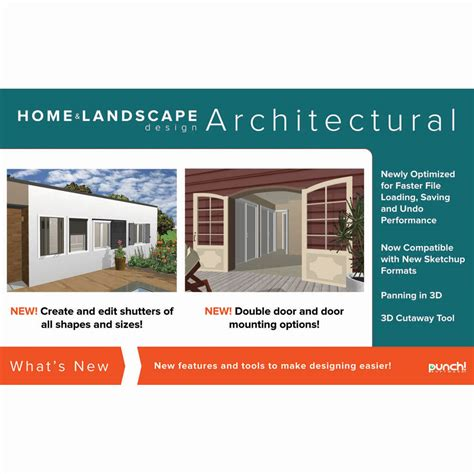 home design architectural series 18 punch home landscape design architectural series v19