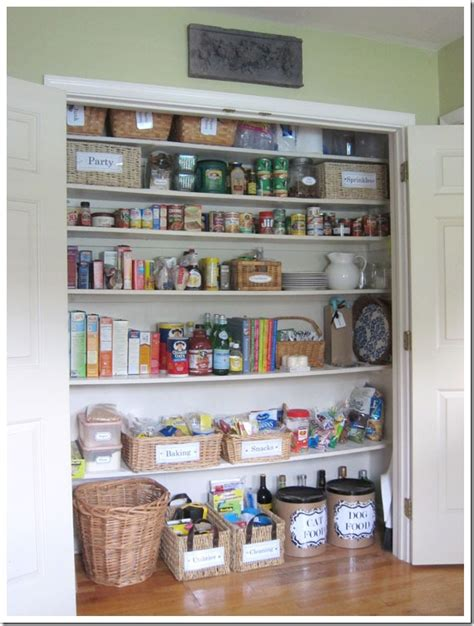 kitchen closet organizer 14 inspirational kitchen pantry makeovers home stories a