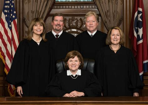 about the supreme court about the supreme court tennessee administrative office