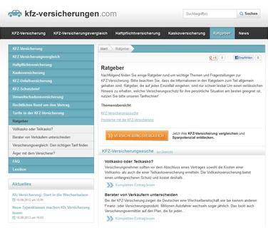 Kfz Direktversicherung Vergleich by Kfz Versicherung Vergleichen Und Bis Zu 800 Euro Sparen
