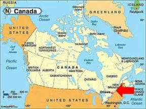 montreal on a map of canada loft story all 1 canada