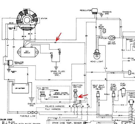 2007 polaris trail 330 wiring diagram 2007 polaris