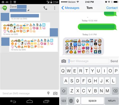how to view iphone emojis on android android 4 4 kitkat release date arrives new android emoji keyboard improves cross compatibility