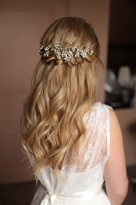 how to wrap wedding hair 25 best ideas about bridal hairstyles down on pinterest