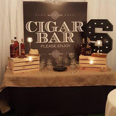 party themes bar custom vibe theme cigar bar backdrop party prop pinteres