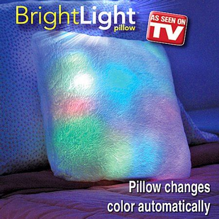 Pillow To Tv by As Seen On Tv Bright Light Pillow White Walmart