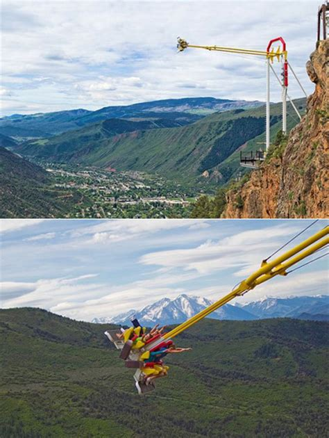 colorado canyon swing this just might be the world s scariest thrill ride