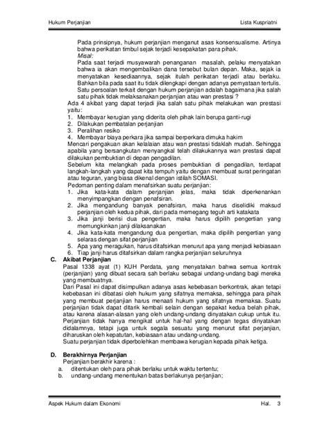 Dasar Dasar Aspek Putusan Batal Demi Hukum 1 hukum perjanjian