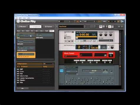 tutorial guitar rig 4 map of the problematique muse effect patch tutorial