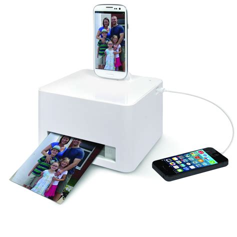 android smartphone photo printer hammacher schlemmer - Android Printer