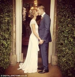 professor green millie wedding millie mackintosh embraces new husband professor green at