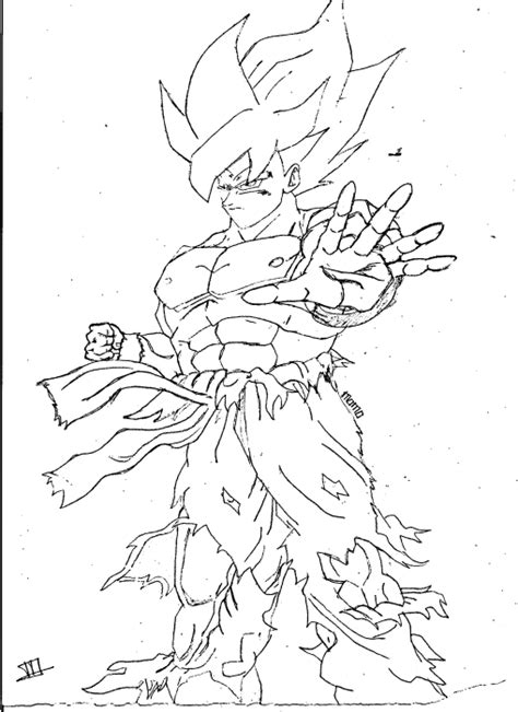 goku jr coloring pages free goku jr from dragonball z coloring pages